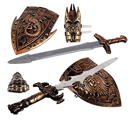 Juego de juguetes para niños con espadas y espada en forma ...