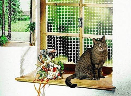 Red de seguridad 2 x 6 m Blanco Gato Red Balcón Red Red de protección para gato gato Accesorios: Amazon.es: Productos para mascotas