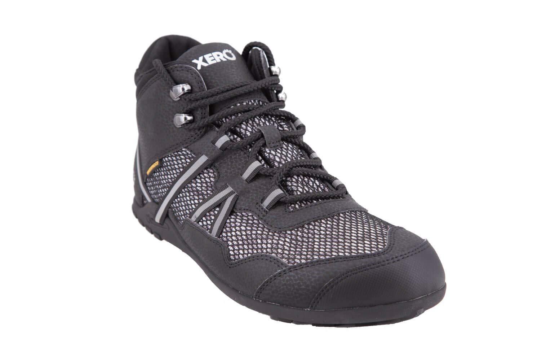 Xero Shoes Xcursion - Men's Waterproof Minimalist Lightweight Hiking Boot - Zero Drop Wide Toe Box Vegan Black by Xero Shoes
