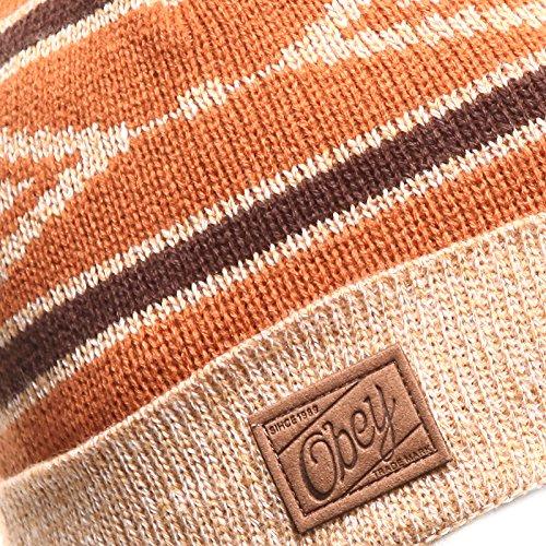 Homme Pour Pompon Chaud Fil Orange Femme À Avec Tricoter Epais Hiver Chapeau Acvip Unique Taille Bonnet qwgvaUP