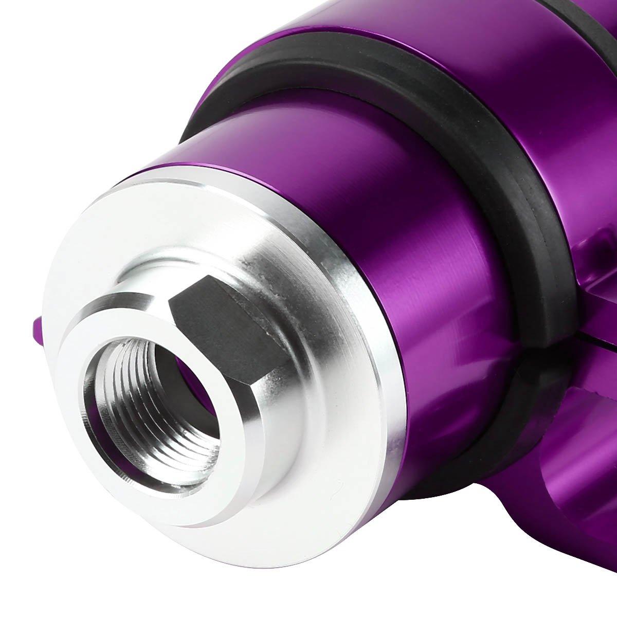 DNA MOTORING IFF+C-PP DNA Purple AN6//AN8//AN10 Billet Aluminum Inline Fuel Filter+Bracket
