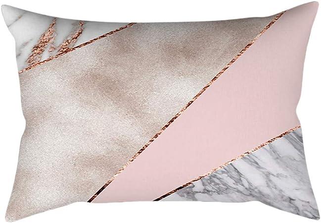 1x or Rose Rose Simple fashion Housse de Coussin carré Taie d/'oreiller décoration