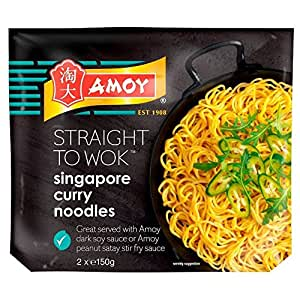 Amoy Straight to Wok Singapore Noodles (2 per pack - 300g)
