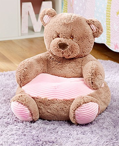 Stupendous The Lakeside Collection Kids Plush Animal Chairs Pink Bear Pabps2019 Chair Design Images Pabps2019Com