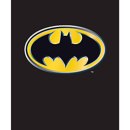 506de46e56 Amazon.com  DC Comics Batman Emblem Twin Size Plush Blanket w Area ...