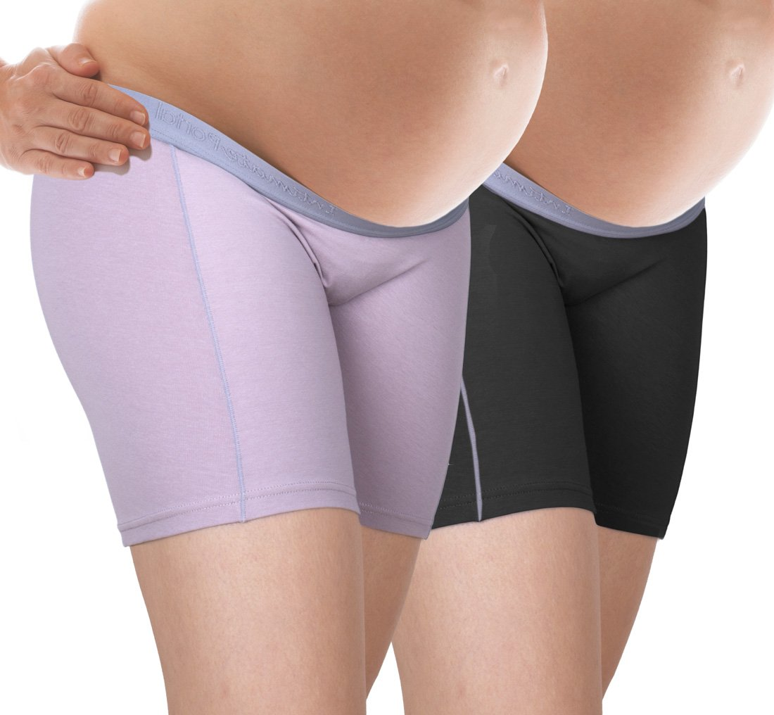 Intimate Portal Women Under The Bump No Chafing Maternity Pregnancy Shorts PartialUpdate