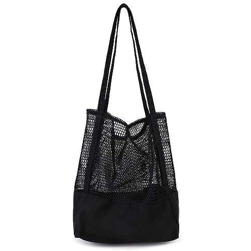 b68db956757 Canvas Shoulder Bag, Fashion Shoulder Handle Bag, Oversized Carry Totes  Durable Shopping Groceries, Multi-Use Bag