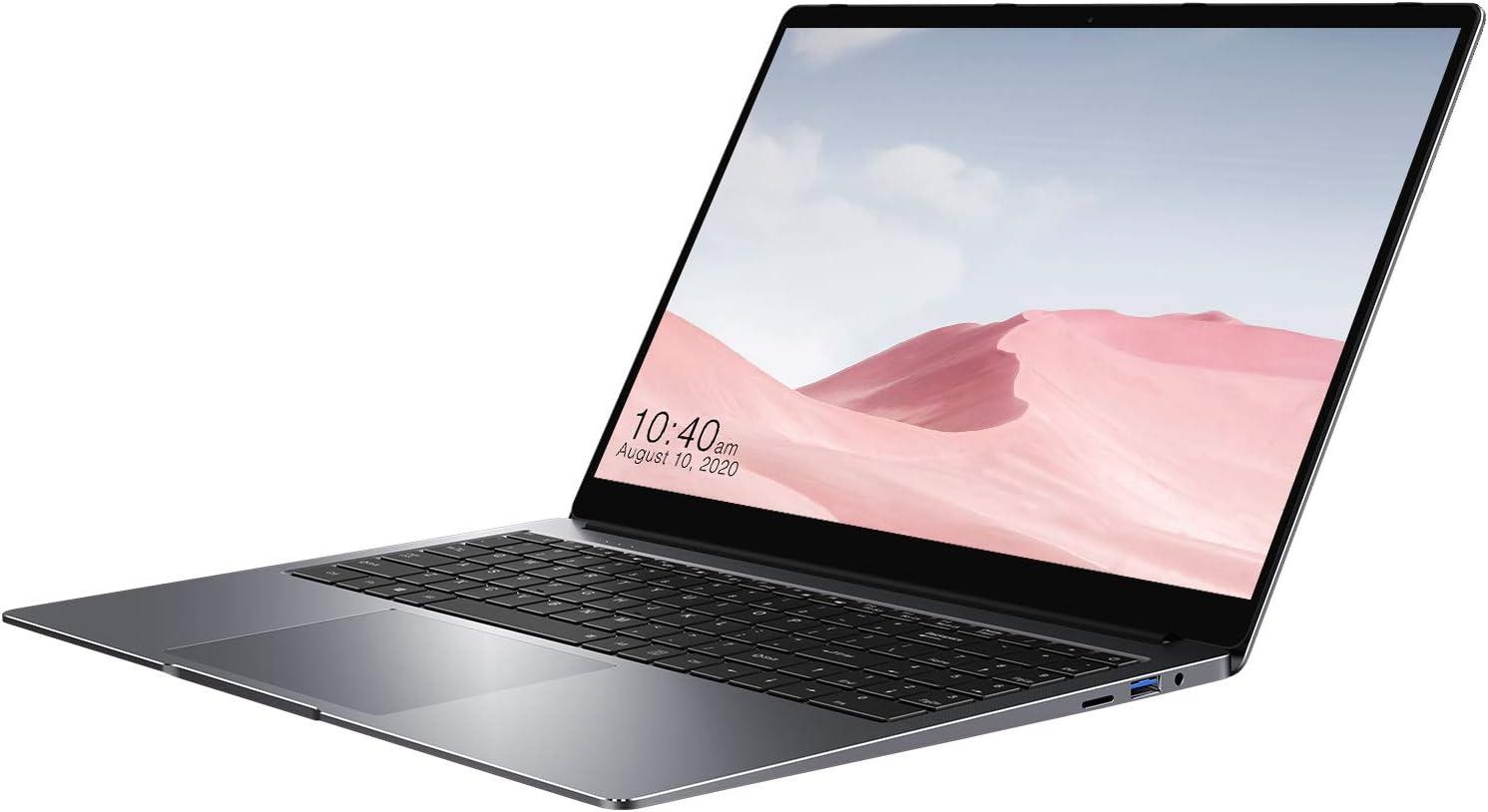 CHUWI HeroBook Plus 15.6 inch Windows 10 Laptop, 1080P Laptop Computer with Intel J4125 and 16GB RAM / 256GB SSD, Support RJ45 Gigabit Ethernet, BT5.1, Dual WiFi