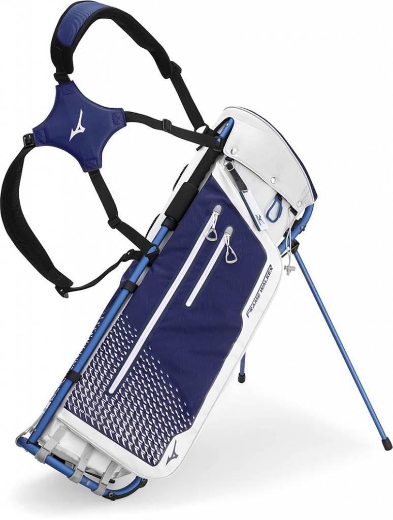 Mizuno Frame Walker - Bolsa de Golf, Color Blanc y Azul ...