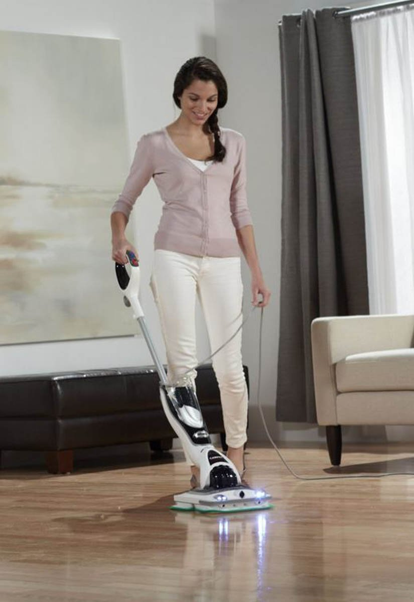 Shark Sonic Duo Carpet and Hard Wood Floor Swivel Steering Scrubbing Cleaner