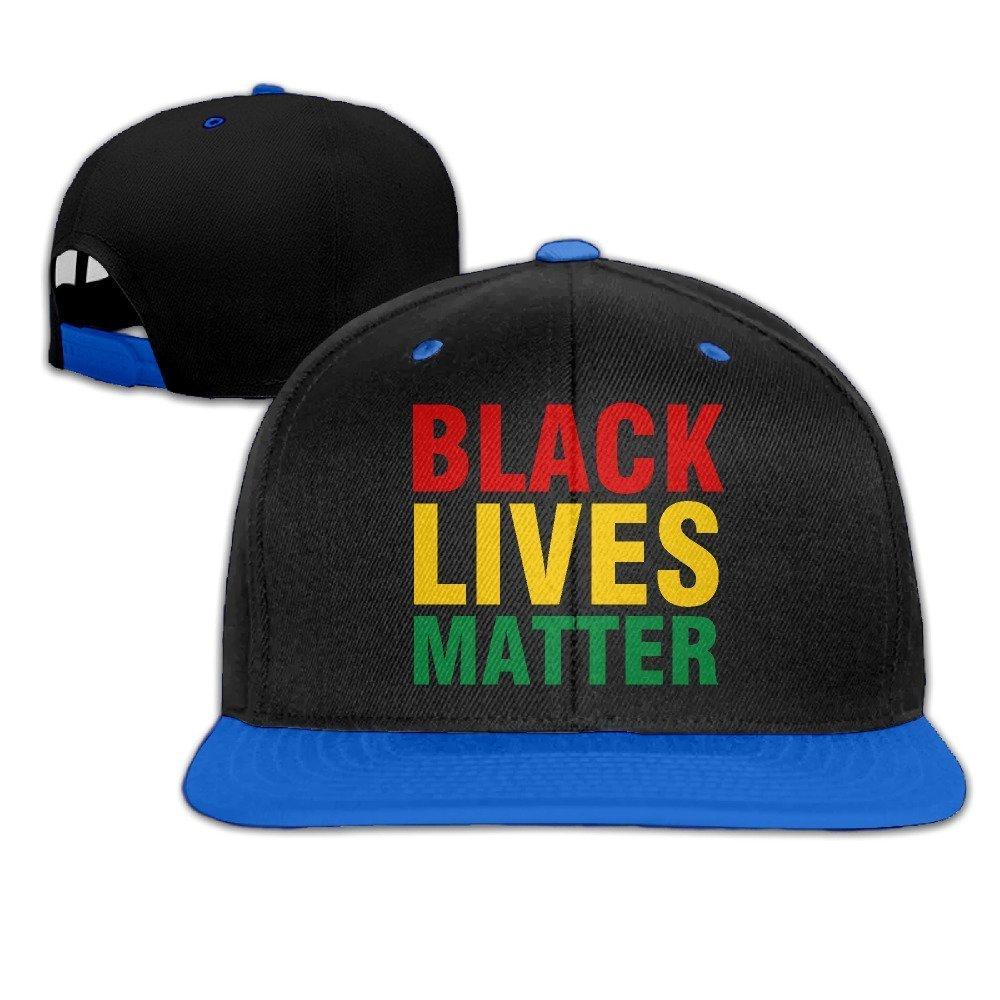 Runy adulto negro vida tema ajustable Hip Hop sombrero y gorra RUNYANG B01H72QKG6