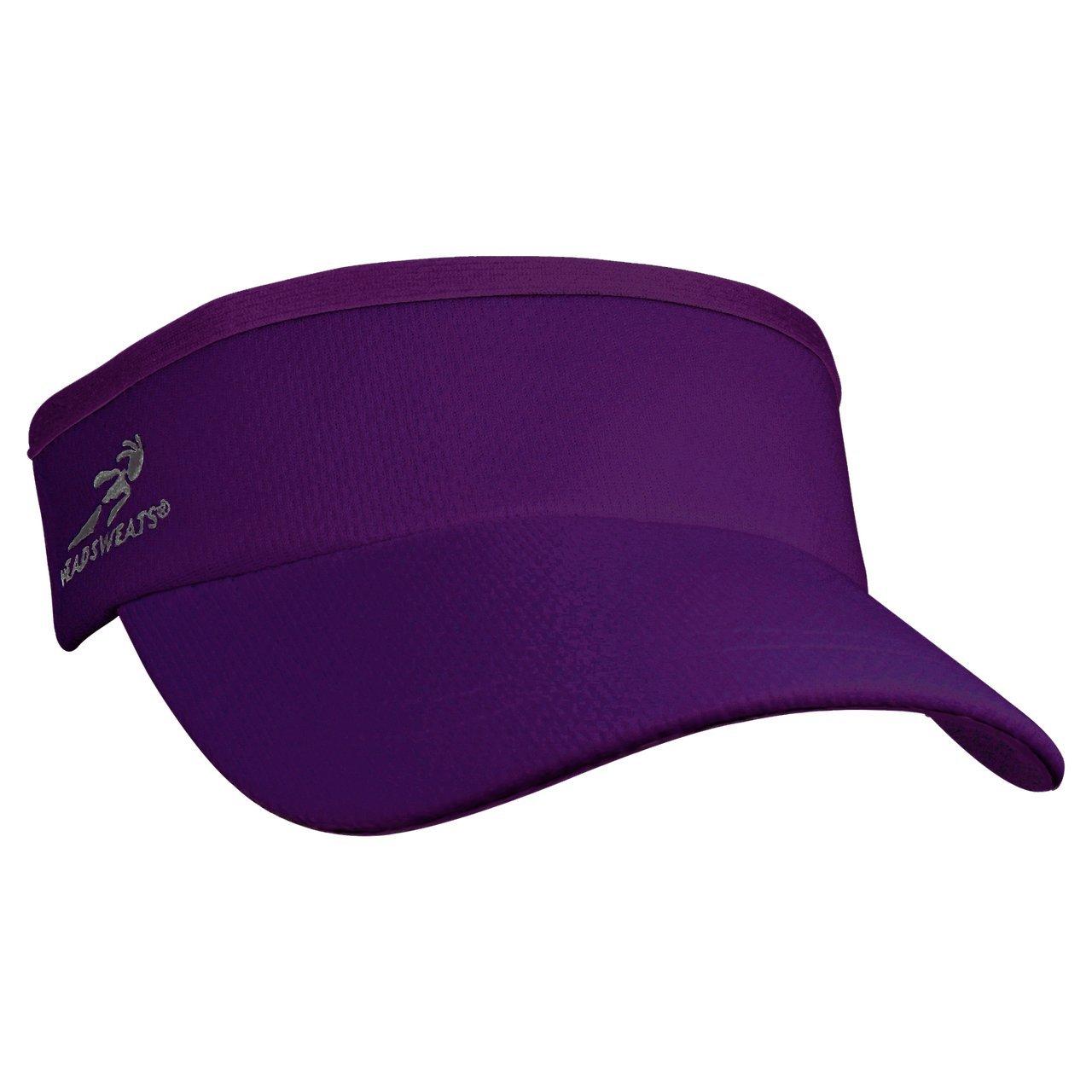 Headsweats 7703-842 Supervisor Sweat Band, Purple, One Size