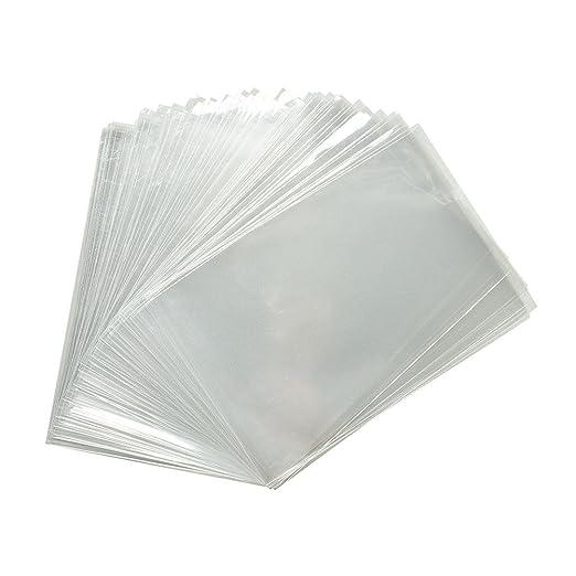 200 x Bolsas Celofán Transparentes - 18 x 30 cm Bolsitas de ...