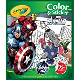 Crayola Avengers Color 'n Sticker Books