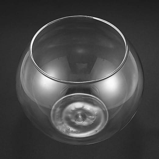 TOOGOO Florero Esfera Redonda En Pecera De Vidrio Transparente