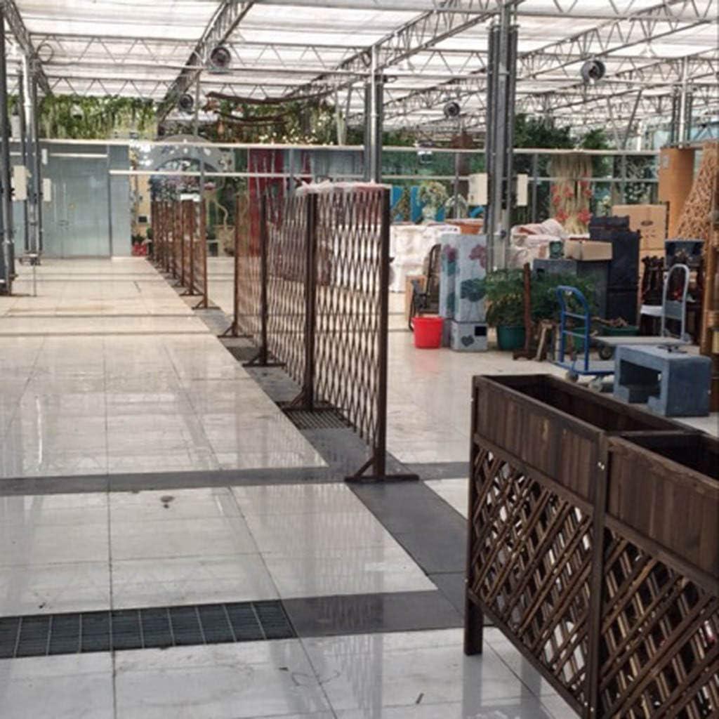 NLMWL-Y Cerca del jardín, mampara de Madera de Barrera Vegetal, decoración de la Cerca extendida al Aire Libre 80 * 160cm: Amazon.es: Hogar