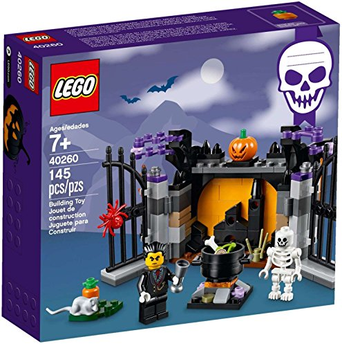 Halloween Warehouse (LEGO 40260 : 2017 Halloween Set 145pcs)