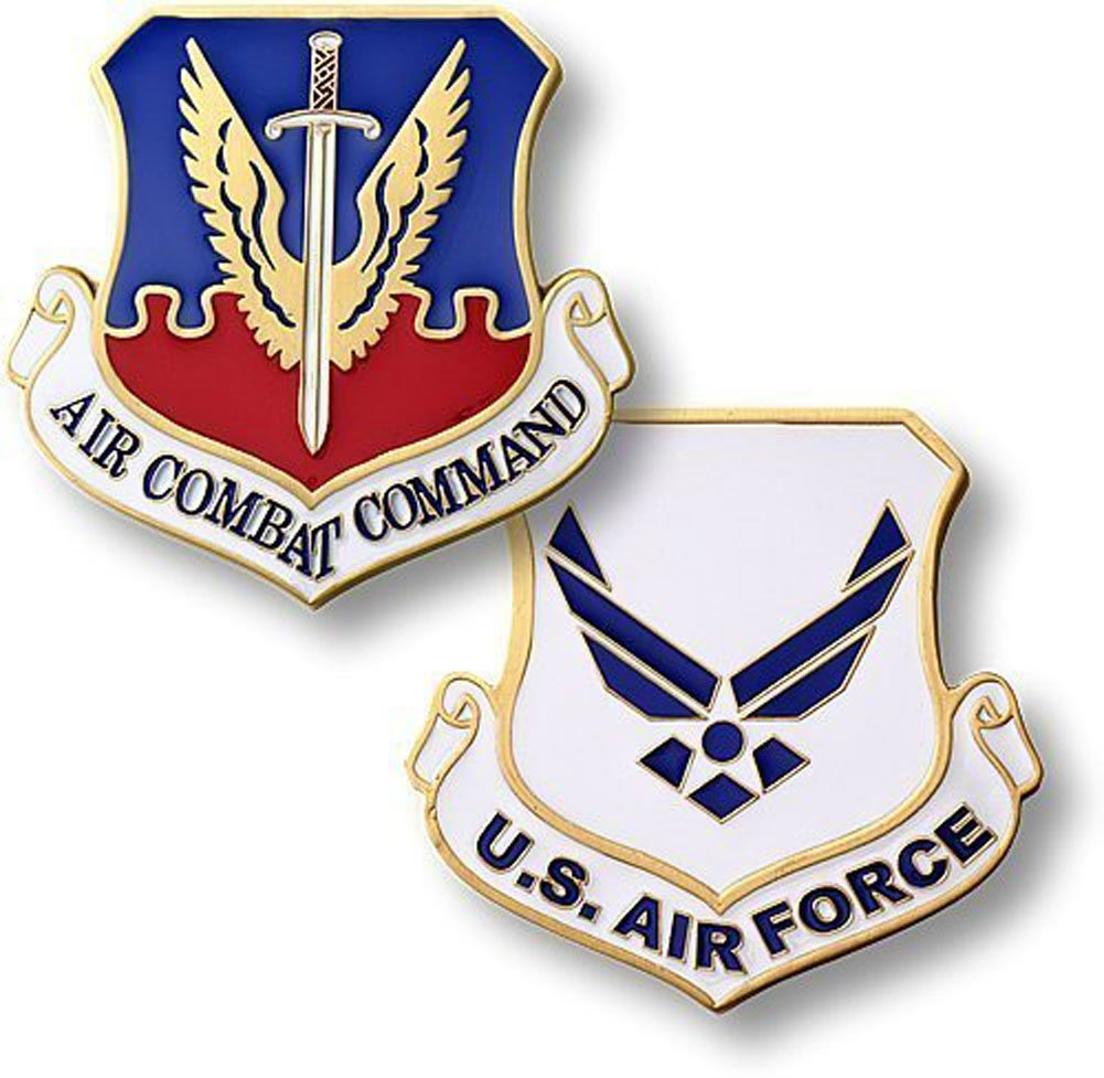 Air Force Air Combat Command Challenge Coin Armed Forces Depot U.S