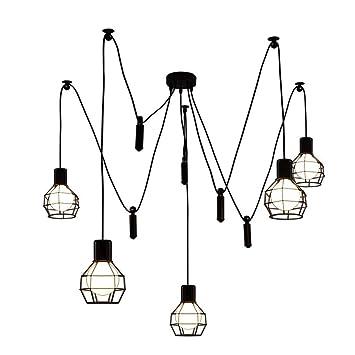 AEXU Exquisito Lámparas, antigüedad clásica lámpara de ...