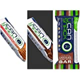 Generation UCAN SuperStarch Snack Bar Variety 12 Pack Chocolate, Cinnamon Swirl and Peanut Butter Chocolate