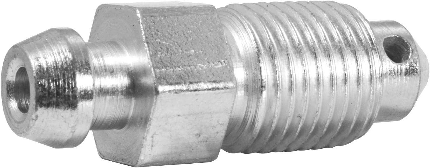 10 Millimeter Hex Bag of 2 M10x1.0 4LIFETIMELINES Stainless Steel Brake Bleeder Screw