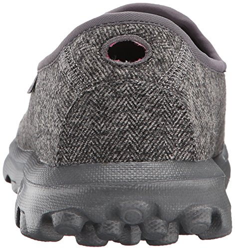 on Slip Walk Charcoal Go Affix Walking Rendimiento Skechers Zapatos pgYqYx