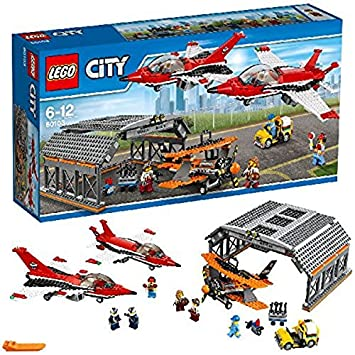 Lego 60103 City Airport Air Show Building Toy Amazoncouk Toys