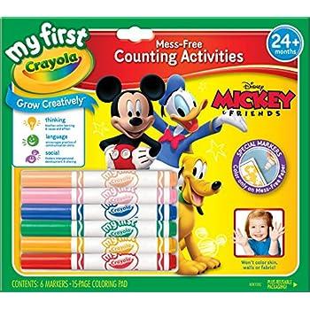 Crayola No Mess Coloring Book