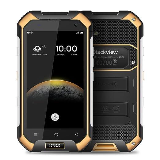 """76 opinioni per Blackview BV6000 IP68 Tri-Proof Impermeabile Smartphone 4.7"""" 4G FDD-LTE 64Bit"""