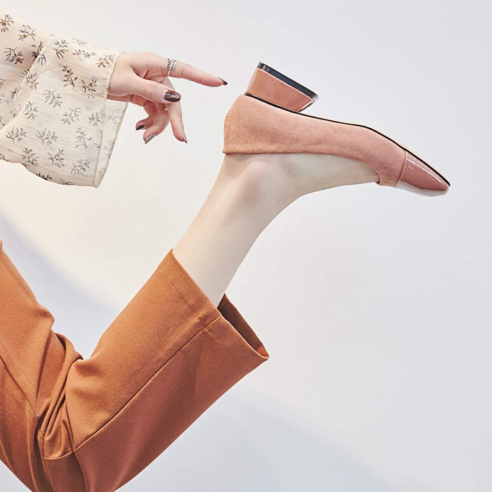 Qingchunhuangtang Einzelne weibliche Schuhe dick Wilden flachen Schuhen des Sommers mit den Schuhen der Frauen Frühling und Herbst  | Shopping Online  | Up-to-date Styling