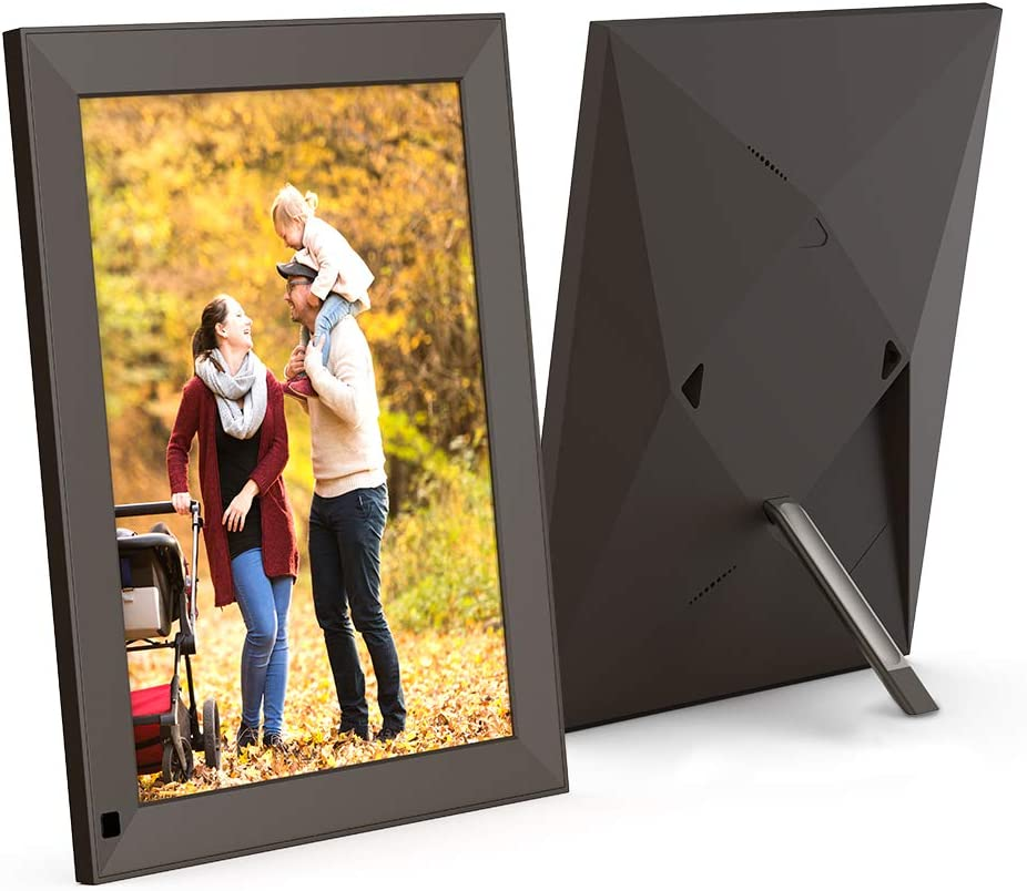 BSIMB 10 Inch Digital Photo Frame WiFi Digital Picture Frame 2K 2048 1536 IPS Retina Touch Screen Motion Sensor Share Photos Via Cloud APP,Facebook,Twitter,Email Twili BX1