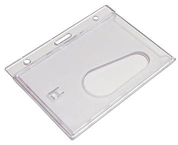 Customcard ltd® - Soporte para tarjetas identificativas (5 unidades)