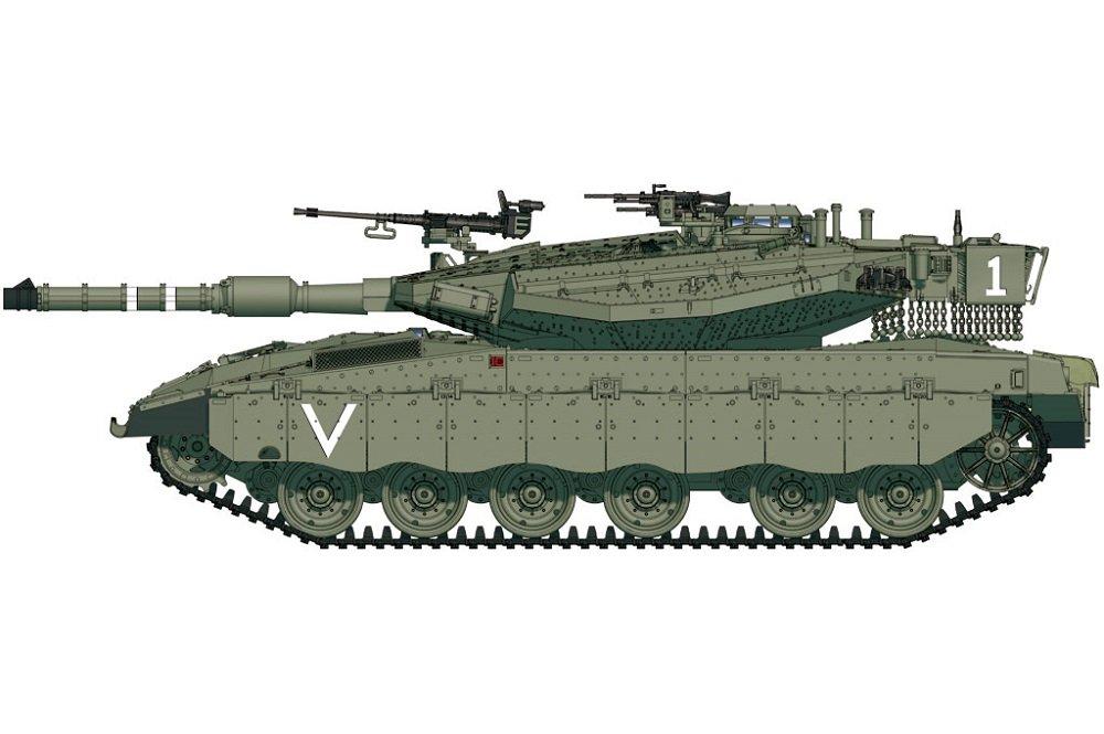 'Hobby Boss 82917–Modèle Kit IDF Merkava MK. IIID