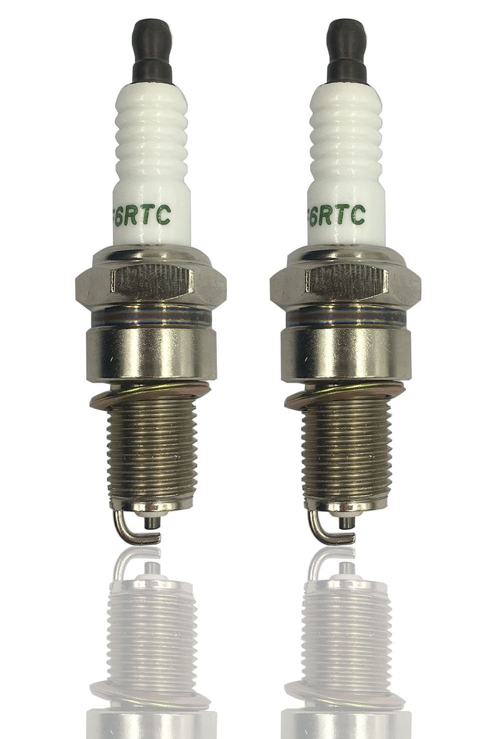 2 Pack Stens 131-039-2pk Spark Plug Replaces Torch F6RTC MTD 751-10292