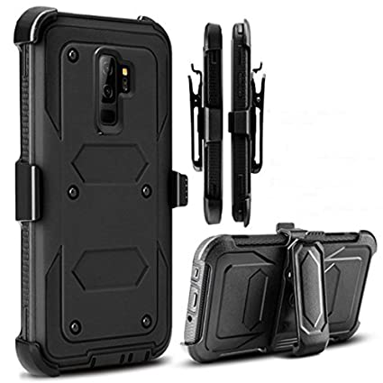 Samsung Galaxy S9 Case, Ti-Baismt[Full Body Protection] [Heavy Protection Stand] [Shockproof] Samsung S9 Clip, Protect case Galaxy S9 (2018 Release) ...