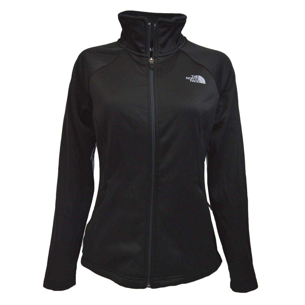 The North Face Women's Agave Full Zip Tnf Black Heather/Mid Grey (Prior Season) Sweatshirt