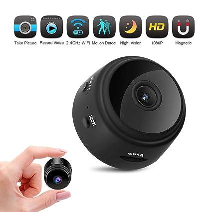 Cámara Oculta, A-TION WiFi HD 1080P Cámara espía Adaptador de Cargador USB de