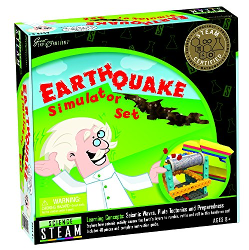 Great Explorations Earthquake Simulator Set]()