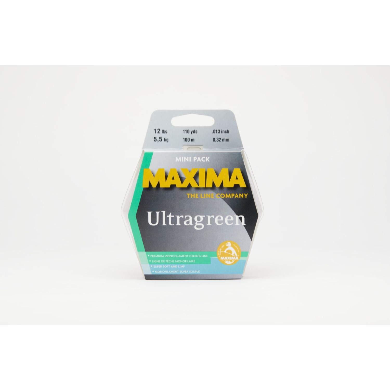 Maxima Fishing Line Mini Pack, Ultragreen