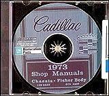 1973 Cadillac Repair Shop Manual & Body Manual on CD-ROM