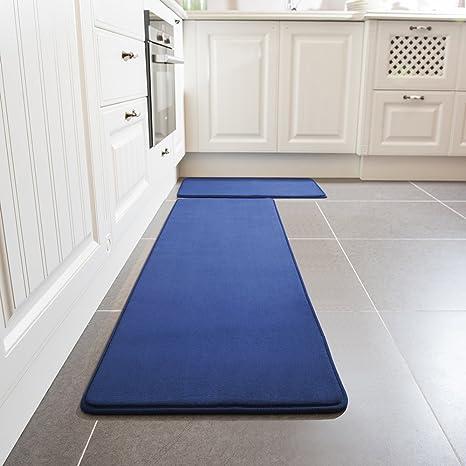 Incroyable Kitchen Rug Set, LEEVAN Memory Foam Kitchen Comfort Mat Super Soft Rug  Microfiber Flannel Area