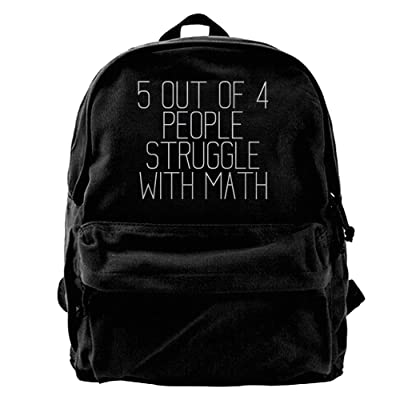 Bappgap Mens 5 Of 4 People Struggle With Math Interesting Infantry Pack