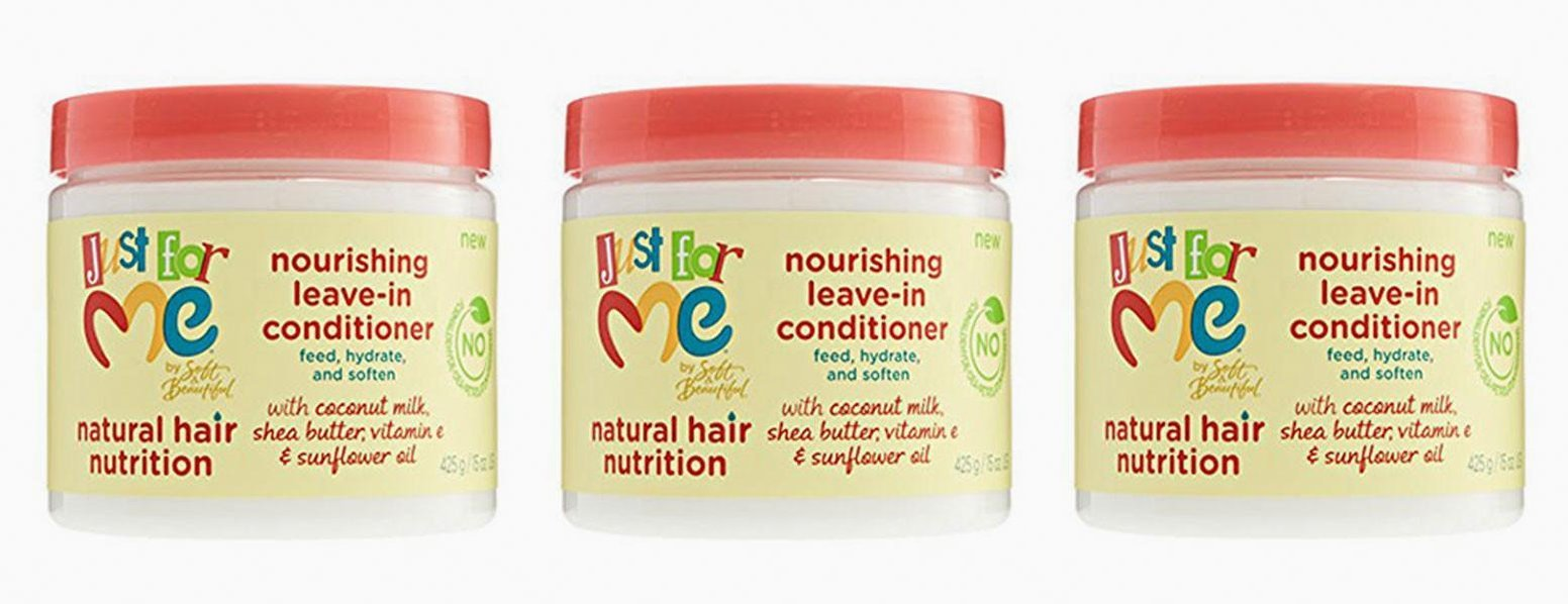 (PACK OF 3) JUST FOR ME Hair Milk Nourishing Leave-In Conditioner 15oz