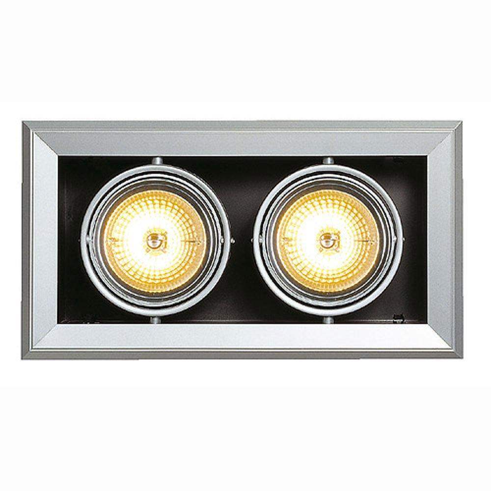 SLV Aixlight Mod 2 Qrb111 Wand und Deckeneinbauleuchte, maximum 50 W, Kardanisch 154022