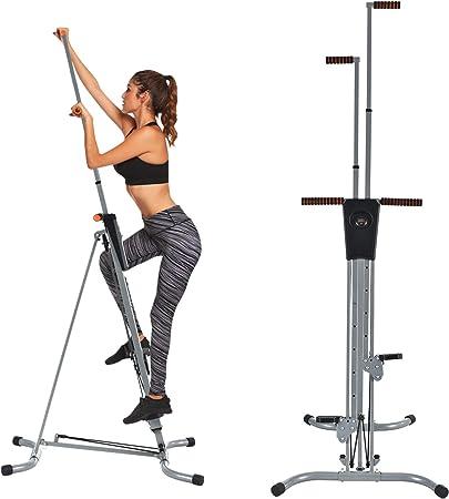 Murtisol - Máquina de entrenamiento cardiovascular vertical para escalada en casa, entrenador corporal, escalador 2 en 1