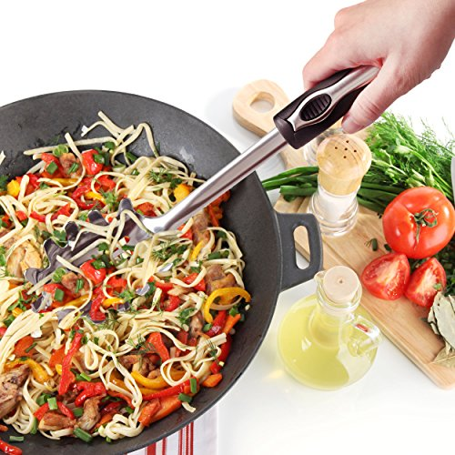 ORBLUE Black & Silver Slotted Spaghetti and Pasta Server by Orblue (Image #2)