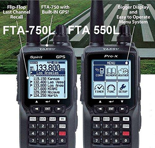 036ba149eb1 FTA-750L Spirit GPS VHF Transceiver for Airband  Amazon.co.uk  Electronics