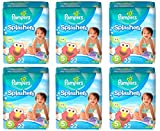 Pampers Splashers Swim Diaper Size 5, 22 Count (Pack of 6)