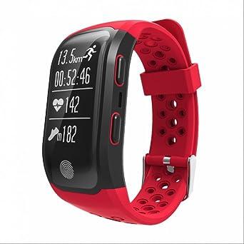 Smartwatch Montre Fitness,GPS Smart Bande IP68 Étanche Sportband Multisport Moniteur de Fréquence Cardiaque Appel