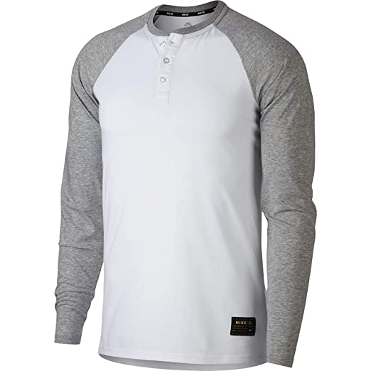 944727e27 Amazon.com: NIKE SB Dri-Fit L/S Tee (White, x-Large): Clothing
